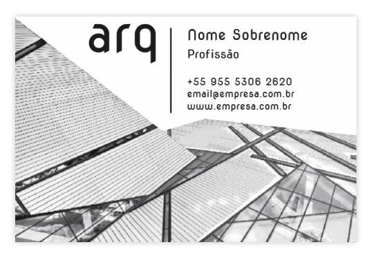 Cartão de Visita 85 x 55 mm